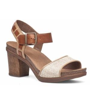 Women's Dansko Debby Grain/Raffi Leather Sandal